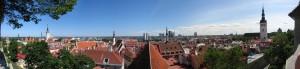 Panoaramabilde av Tallinn Foto:Ralf Roletschek /Wikimediacommons