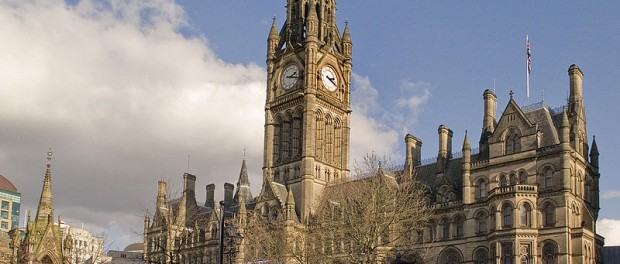 Manchester Town Hall Foto: Mark Andrews /wikimediacommons